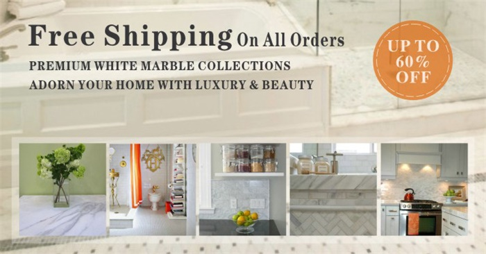 Premium Marble Tiles, Backsplash Mosaics, Molding Trims, Borders